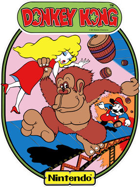 New Donkey Kong Sideart Set