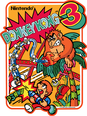 New Donkey Kong 3 Sideart Set