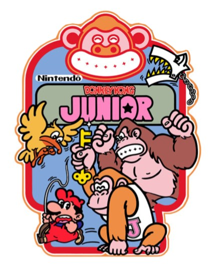 New Donkey Kong Jr Sideart Set