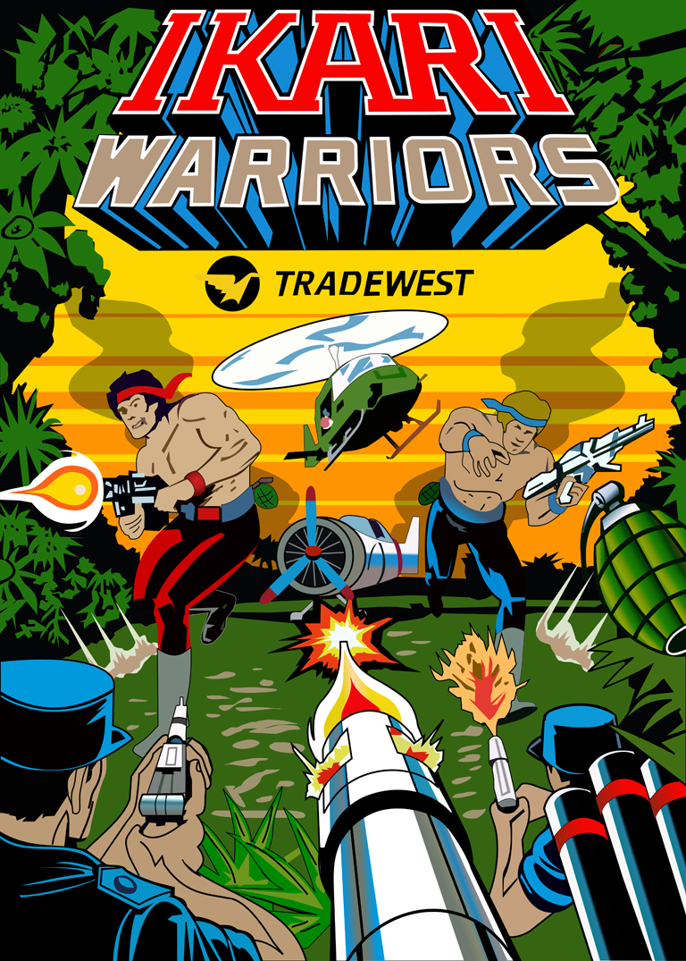 New Ikari Warriors Sideart Set