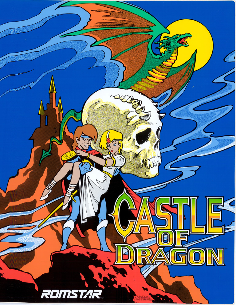 New Castle of Dragon Sideart Set