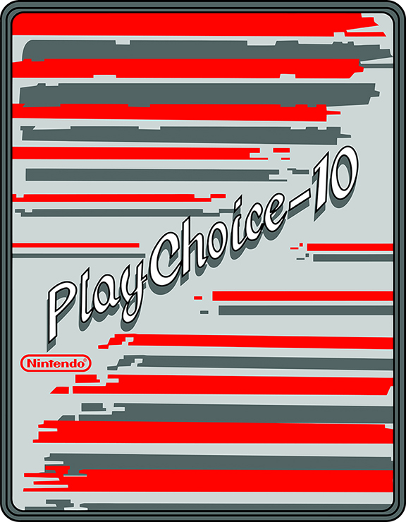 New Nintendo Playchoice 10 Sideart Set(Play Choice)