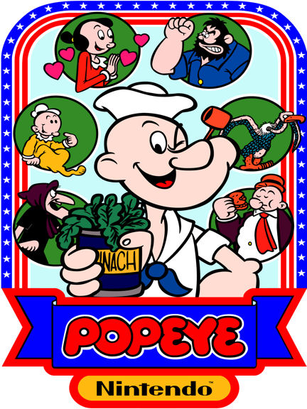 New Popeye Sideart Set