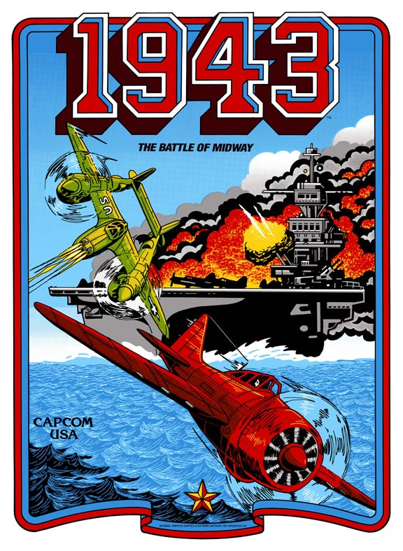 New 1943(THE BATTLE OF MIDWAY)) Sideart Set
