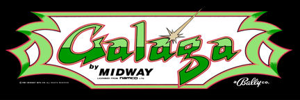 New Galaga Marquee