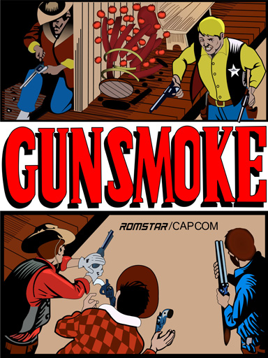 New Gunsmoke Sideart Set(Gun Smoke)