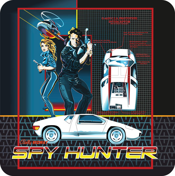 New Spy Hunter Sideart Set